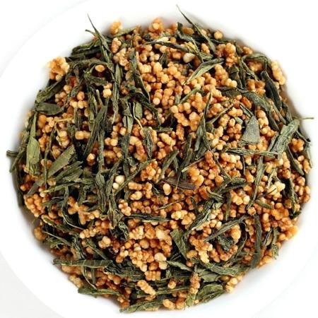Herbata Genmaicha - zielona herbata z prażonym ryżem 100g - EAT