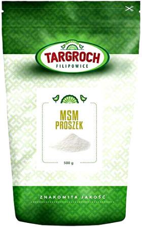 MSM proszek naturalny (siarka organiczna) 500g - Targroch