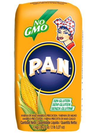 Mąka kukurydziana żółta 1kg - P.A.N.