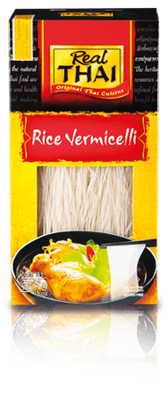 Makaron ryżowy Vermicelli 375g - Real Thai