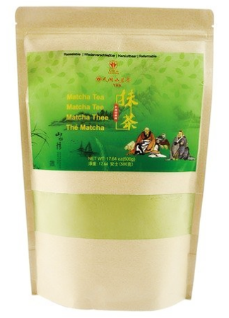 Matcha, sproszkowana zielona herbata 500g - Tian Hu Shan