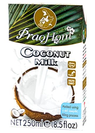 Mleko kokosowe (82%) 250ml w kartonie - PraoHom