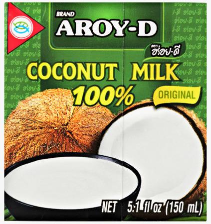 Mleko kokosowe w kartonie 150ml - Aroy-D