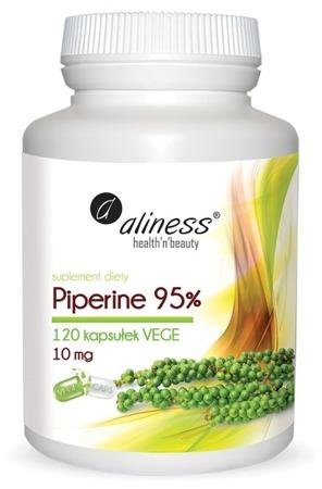 Piperine (Piperyna) 95% 10 mg - 120 kapsułek