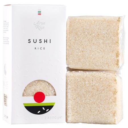 Ryż do sushi i kuchni japońskiej 1kg - Aron Rice