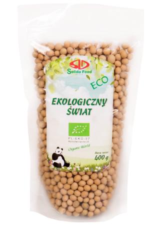 Soja ekologiczna 400g - Solida Food