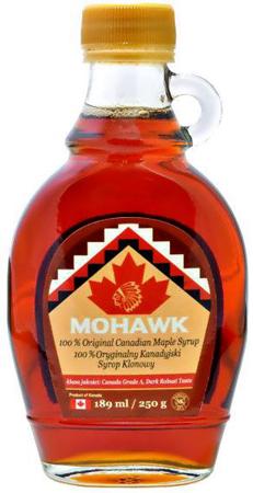 Syrop klonowy klasy A 250ml - Mohawk